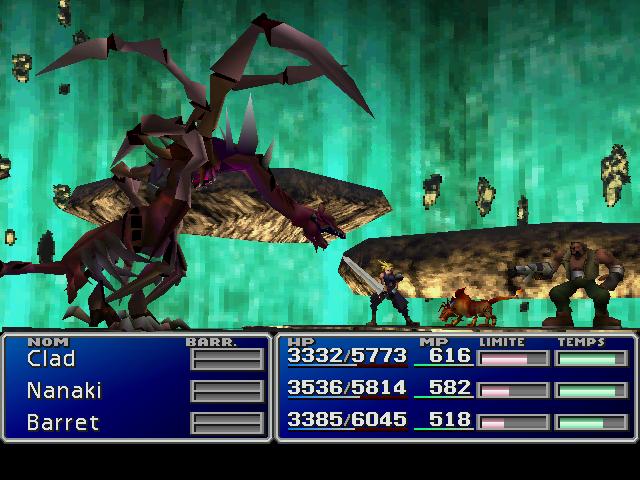 final fantasy 7 dragon zombie