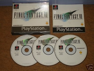 Final Fantasy VII, version PS originale